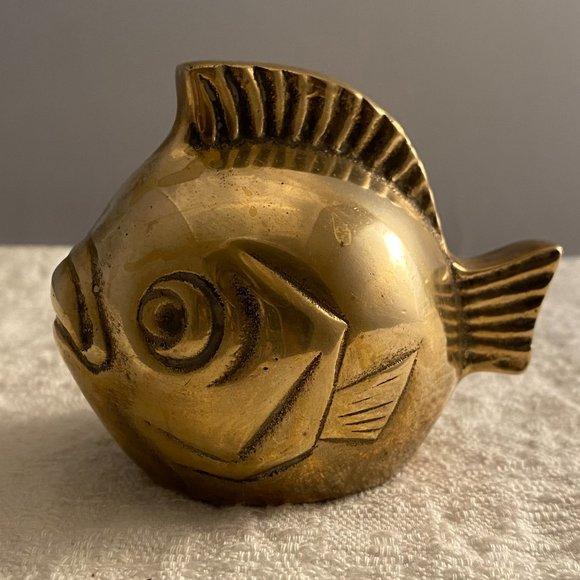 Brass Bubble Fish